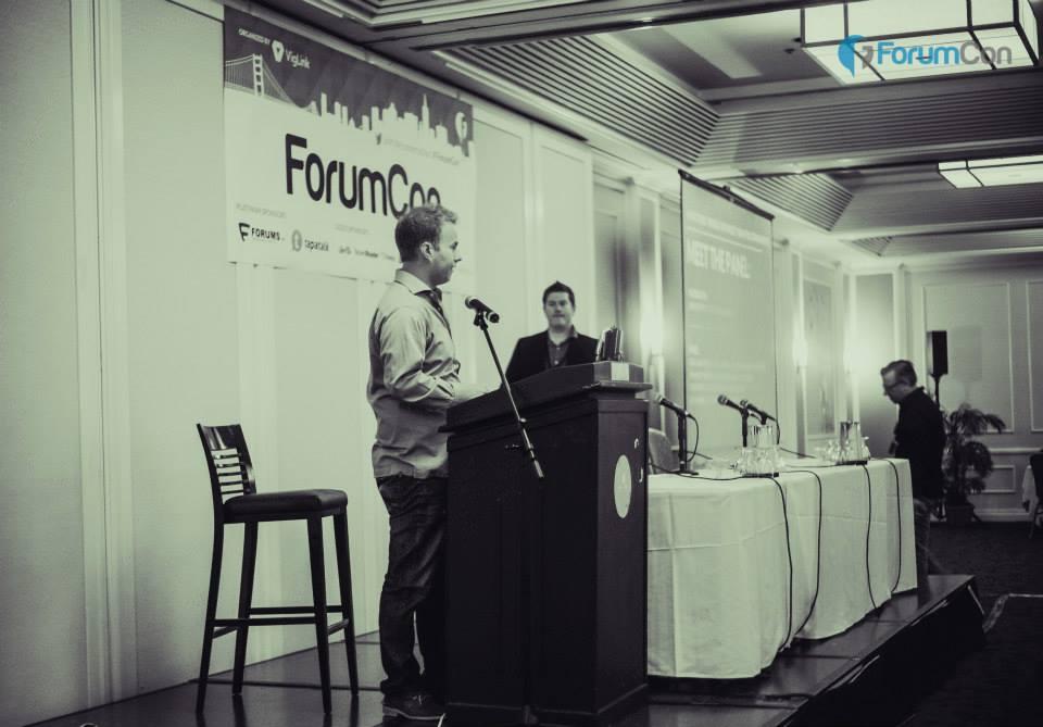John Rampton MC at Forumcon