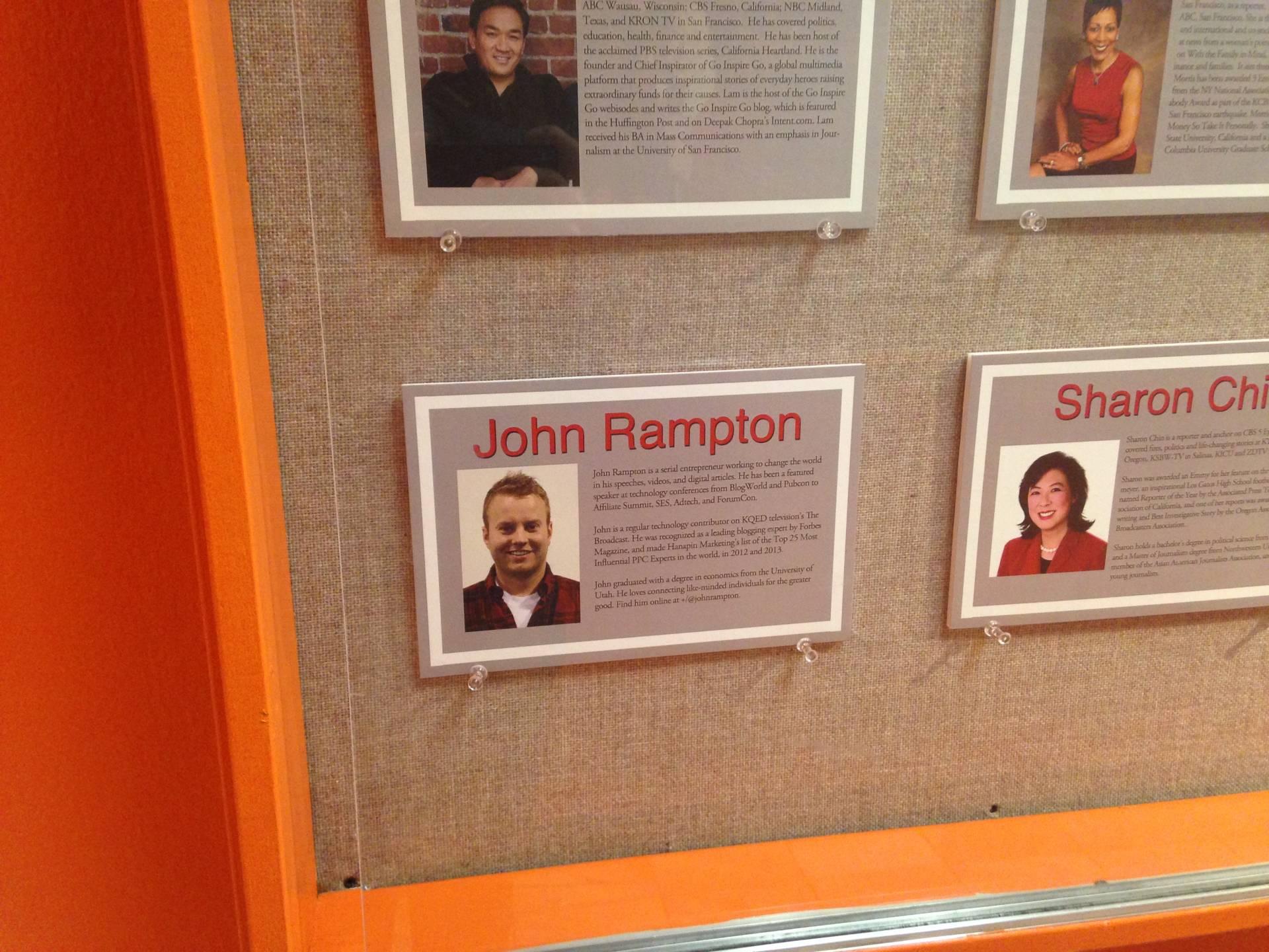 John Rampton Academy of Art University