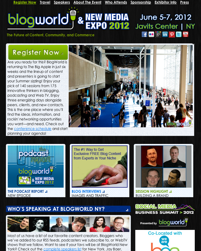 Featured on Blogworld