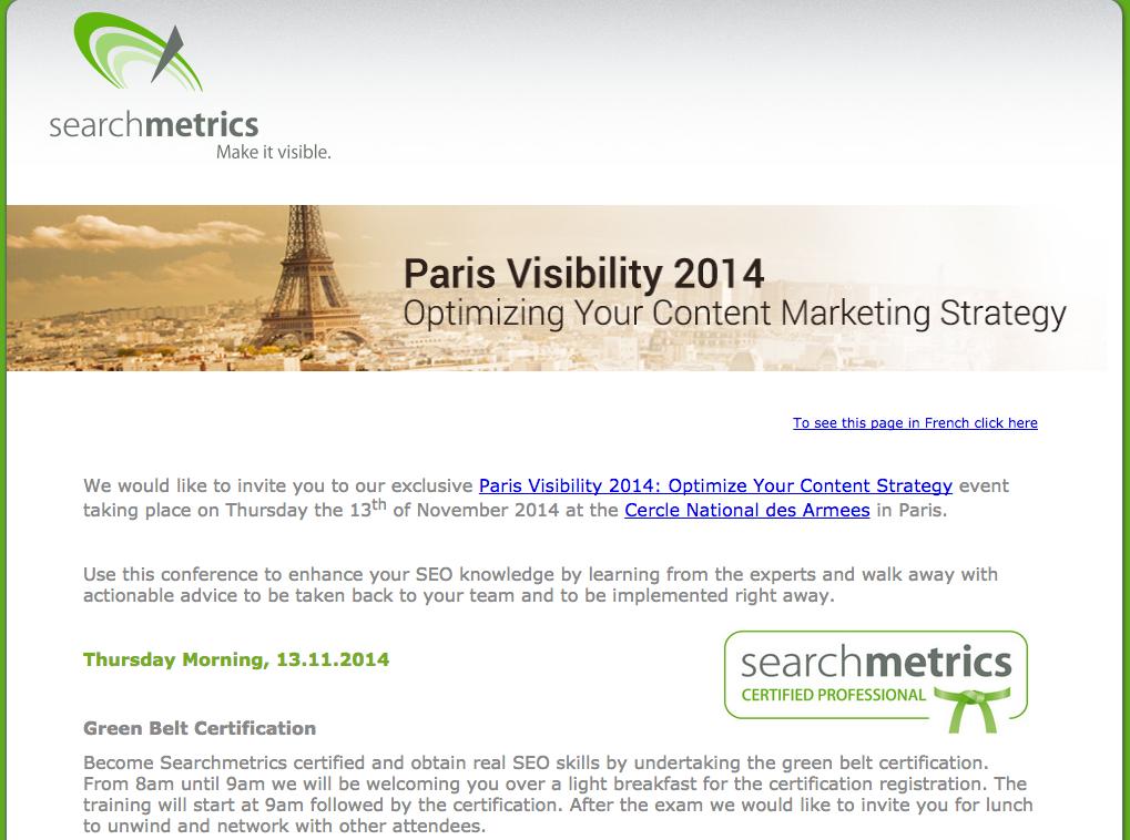 John Rampton Paris Visibility 2014