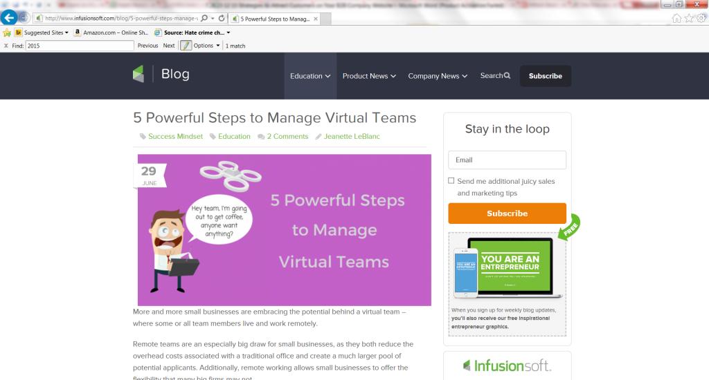 5 Powerful Steps to Manage Virtual Teams