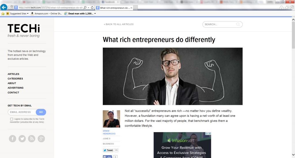 What Rich Entrepreneurs Do Differently