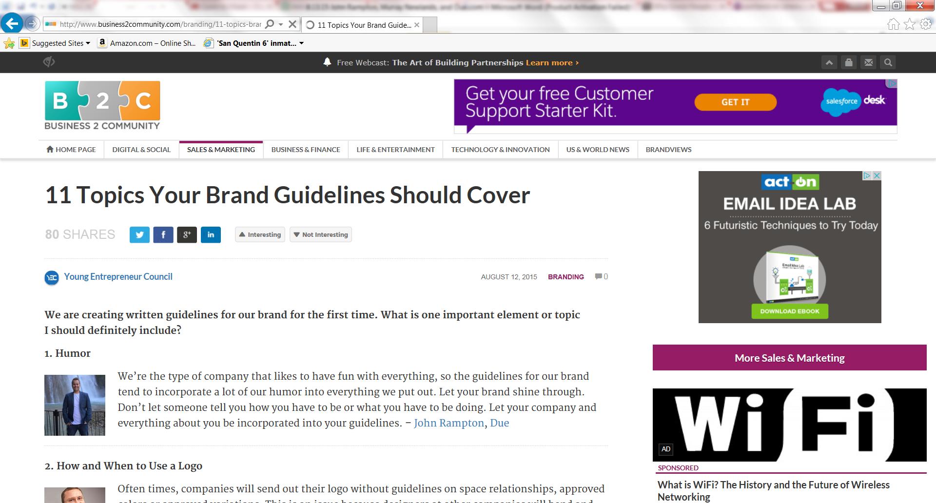 11 Topics Your Brand Guidelines Should Cover - Meet John Rampton