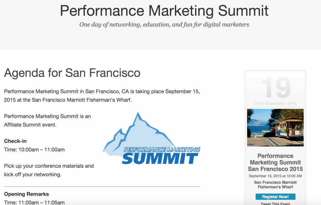Performance Marketing Summit with John Rampton