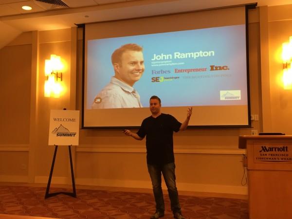 john rampton on how to get your first 1000 customer
