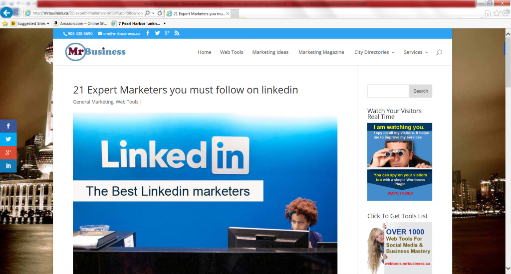 21 Expert Marketers you must follow on LinkedIn-with John Rampton