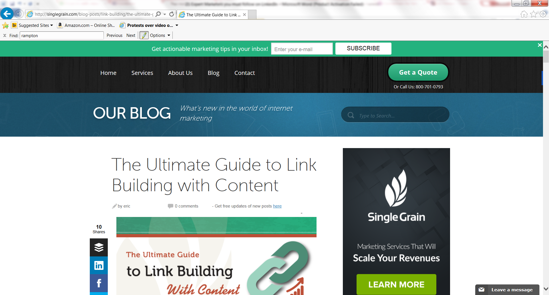 the ultimate guide to link building with content meet john rampton rh johnrampton com ultimate guide to link building ultimate guide to link building pdf
