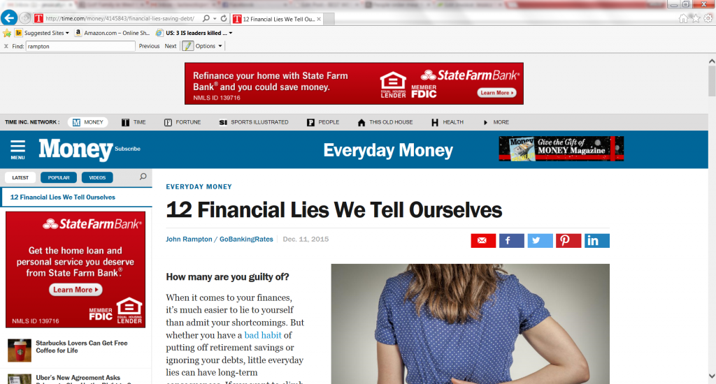 12 Financial Lies We Tell Ourselves-with John Rampton