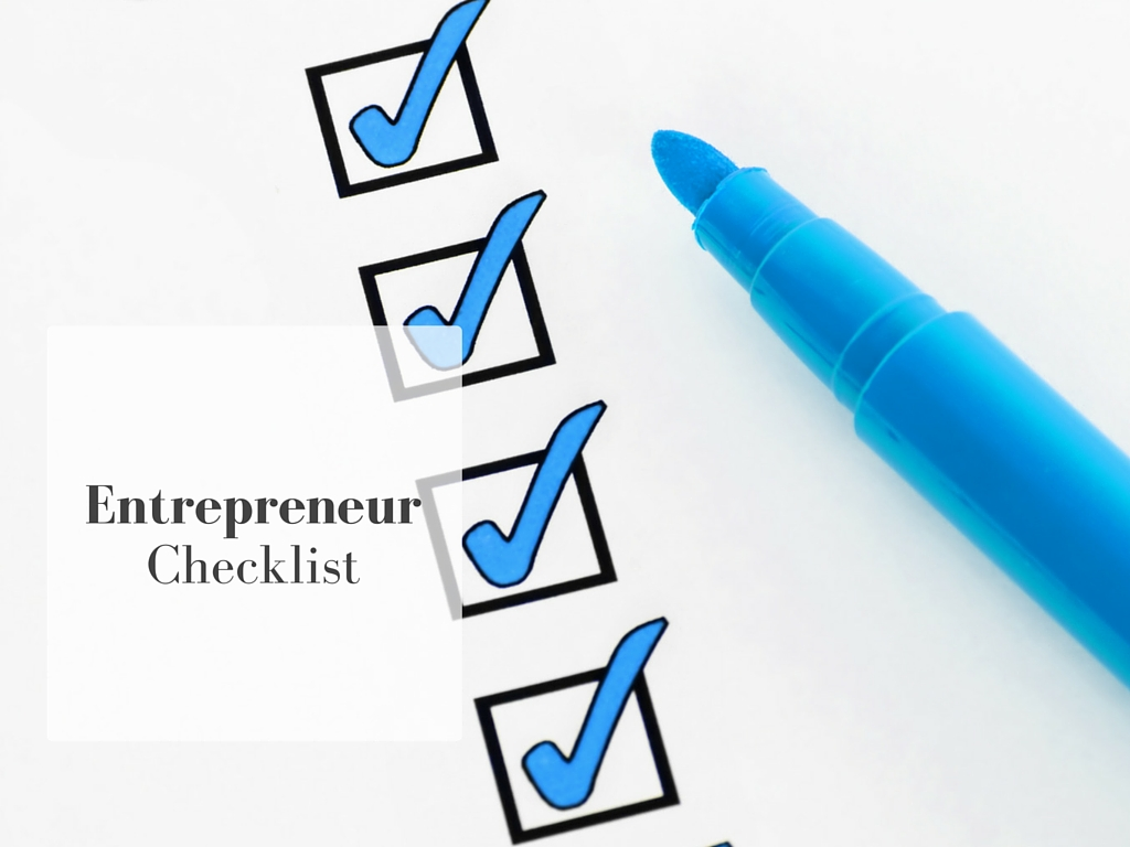 The Essential New Entrepreneur Checklist - Meet John Rampton - Entrepreneur,  Investor And Connector