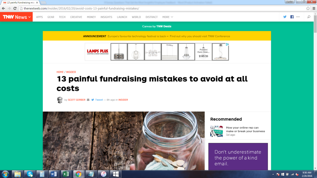 13 Painful Fundraising Mistakes to Avoid at All Costs-with John Rampton