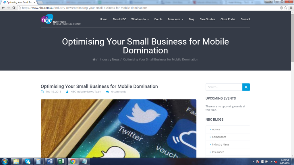 Optimising Your Small Business for Mobile Domination-with John Ramptn