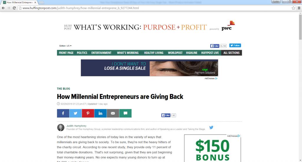 How Millennial Entrepreneurs are Giving Back-with John Rampton