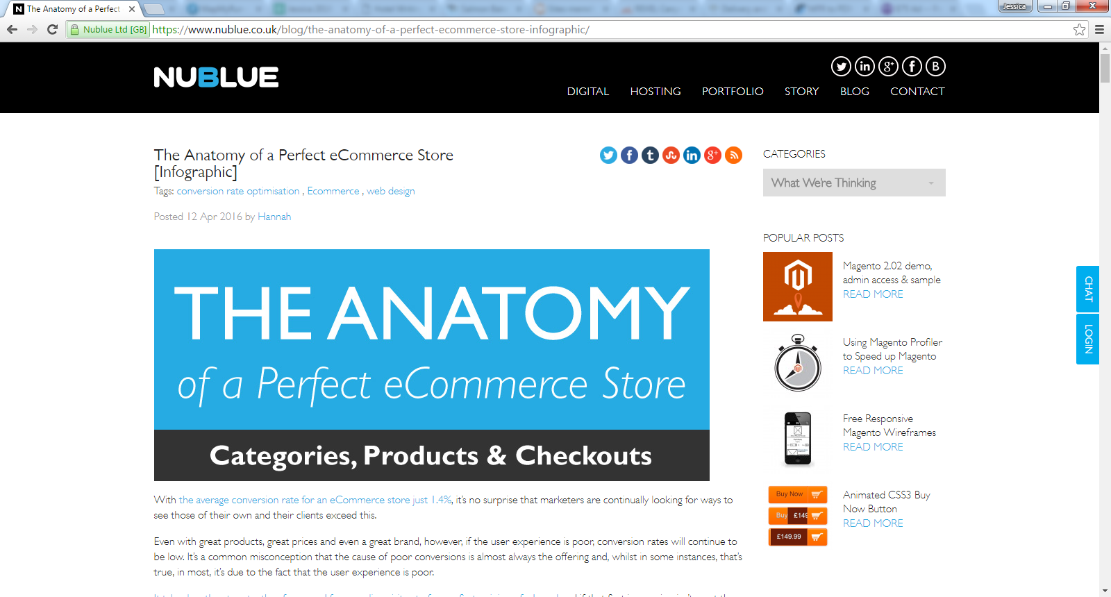 The Anatomy of a Perfect eCommerce Store - Meet John Rampton ...