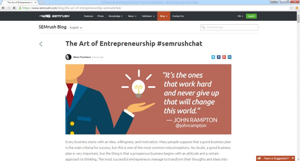 The Art of Entrepreneurship -with John Rampton