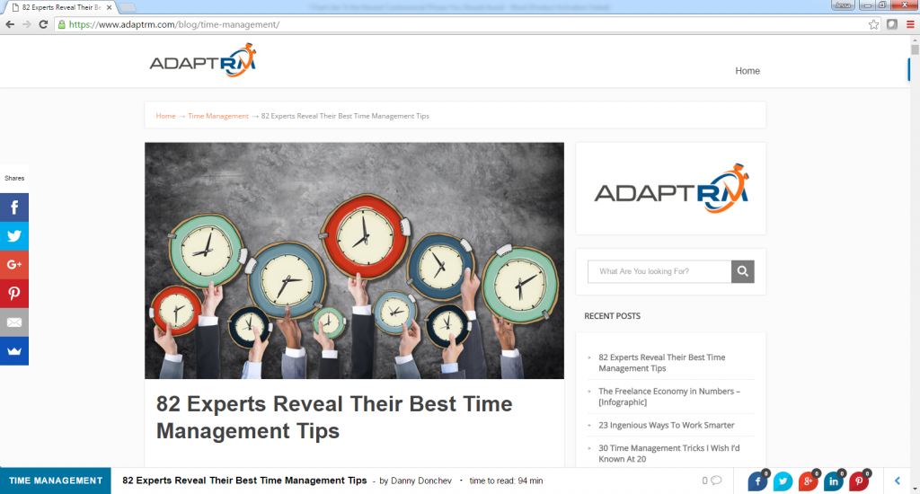 82 Experts Reveal Their Best Time Management Tips-with John Rampton