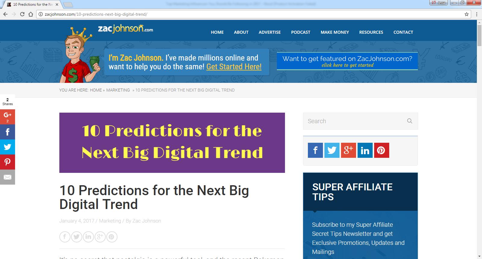 10 Predictions for the Next Big Digital Trend - Meet John
