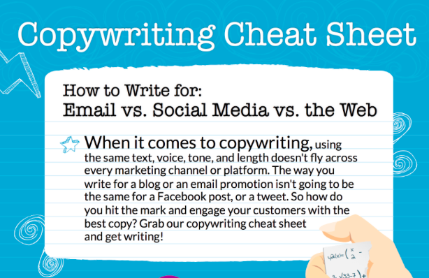 Copywriting cheat sheet