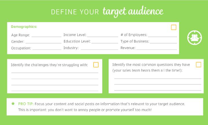 Social media checklist
