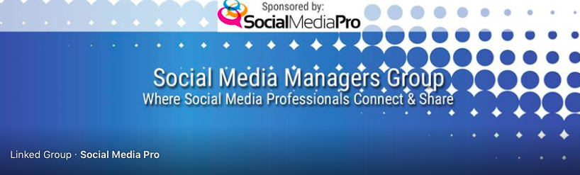 Social media Facebook group cover photo